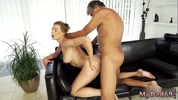 Father, First anal, Old anal, Teen old man, Old man anal