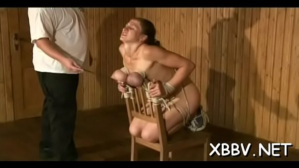 Boobs, Rope, Stand