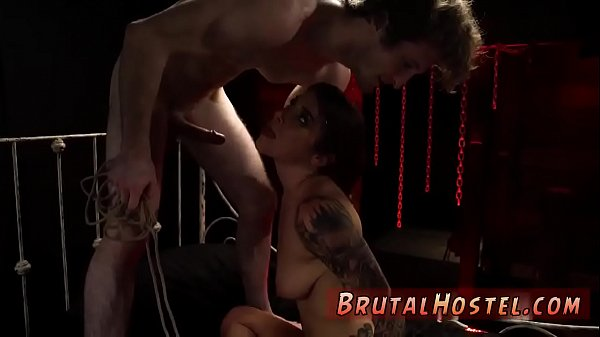 Teens, Tied to bed, Tied fuck, Breast