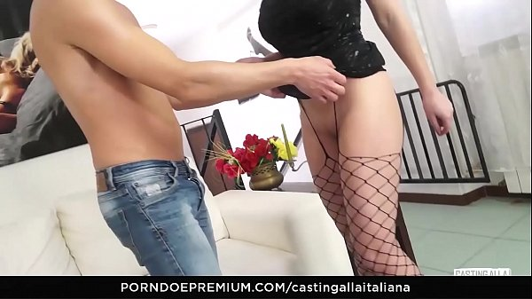 Casting anal, Audition, Anal casting, Italian anal