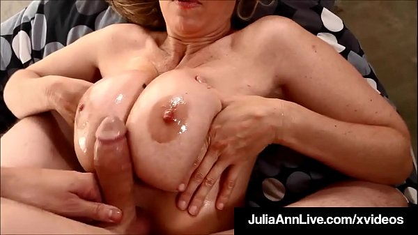 Julia ann, Julia, Hot milf, Busty blonde