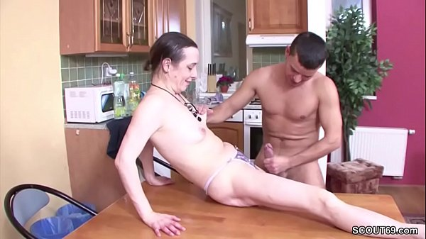 Grandma, Mom young, Young moms, Young guy, Mom seduce